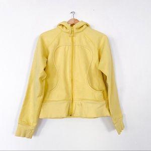 Lululemon Yellow Scuba Hoodie Jacket 12